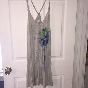 Abercrombie and Fitch dress with dandelion
